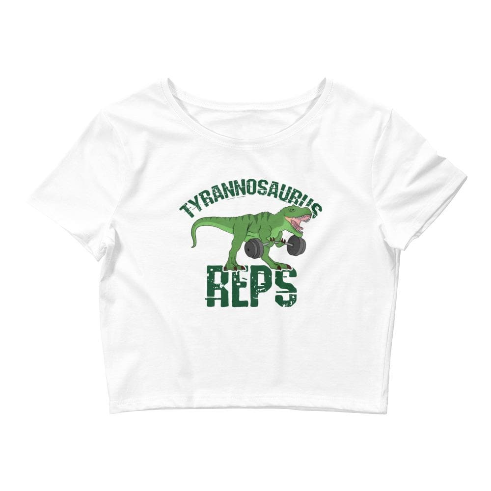 Tyrannosaurus Reps Crop Tee-READY TO SHIP!