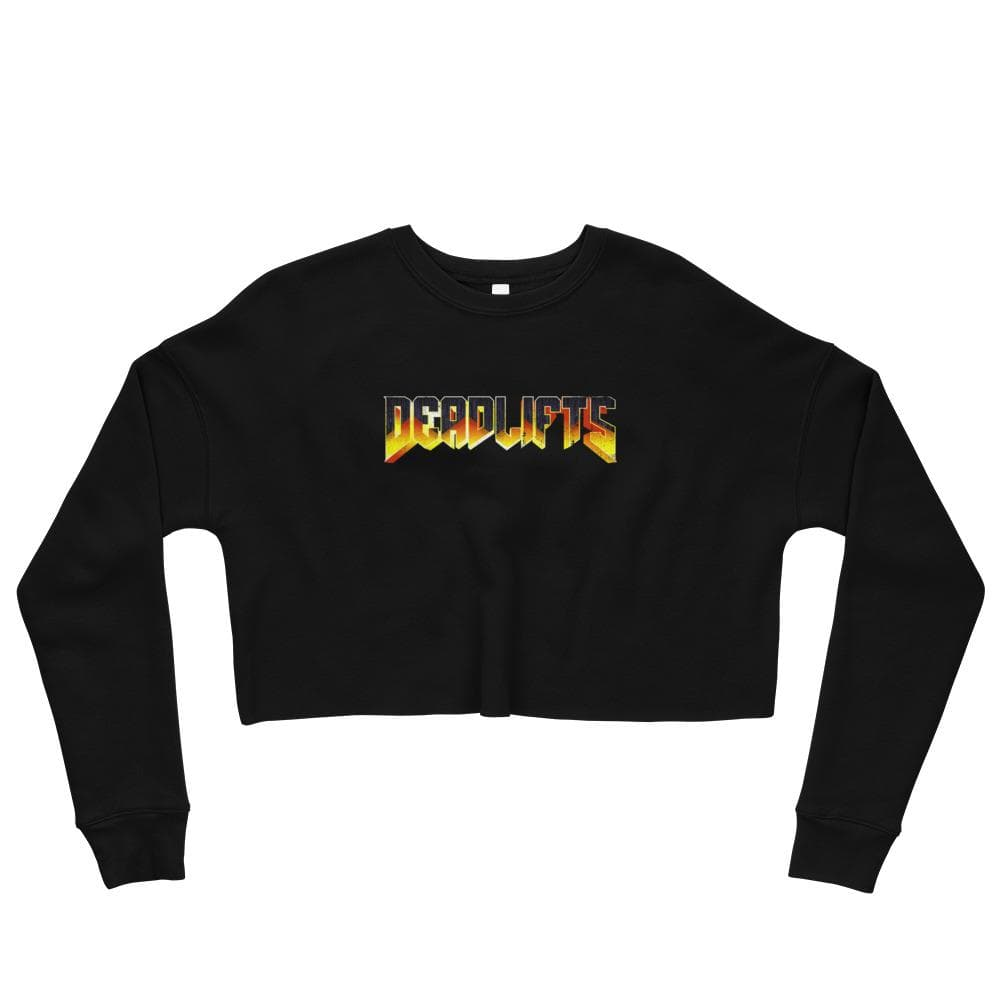 DEADLIFTS Crop Sweatshirt