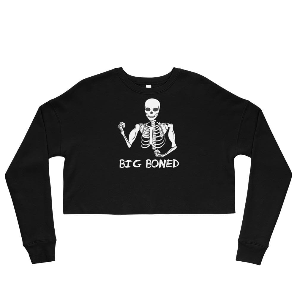 Big Boned Crop Sweatshirt