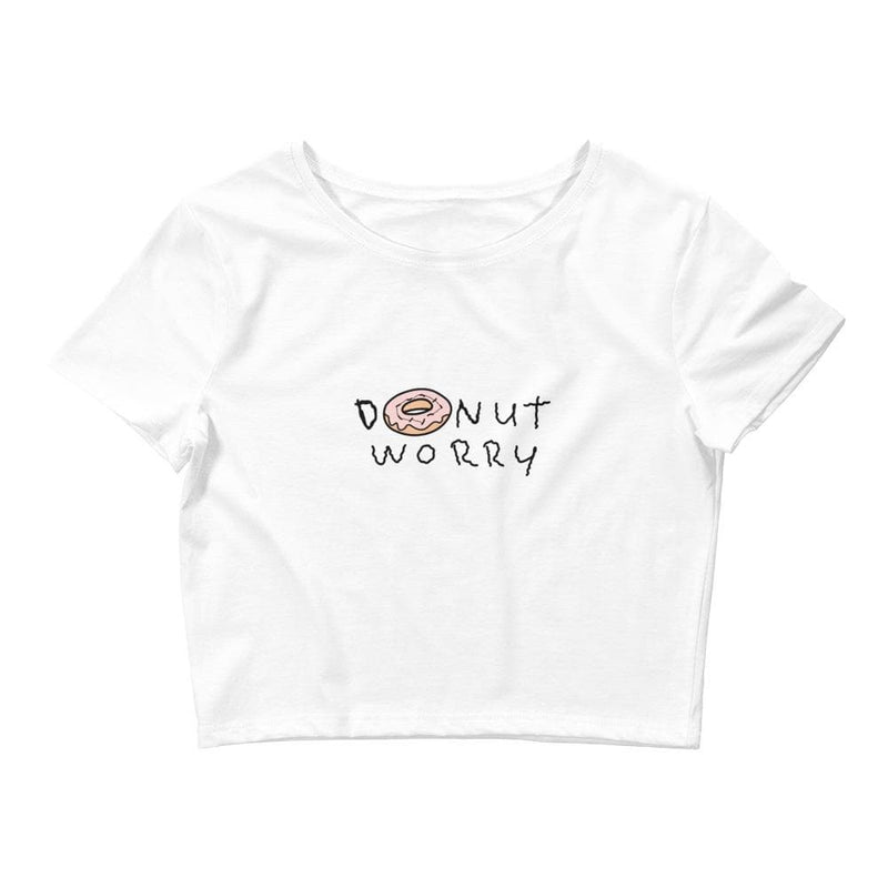 Donut Worry Crop Tee