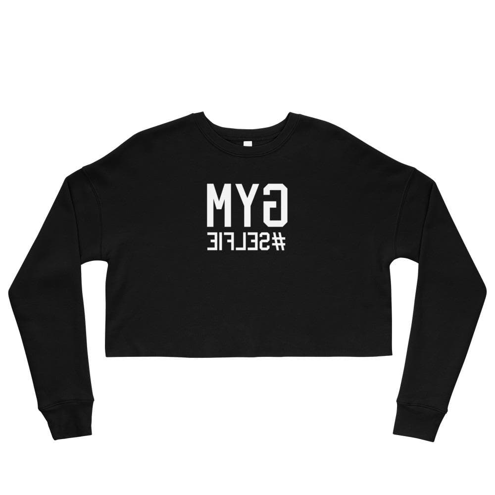 GYM SELFIE Crop Sweatshirt