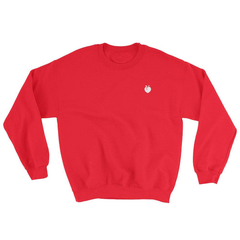Peach Icon Crewneck Sweater-READY TO SHIP!