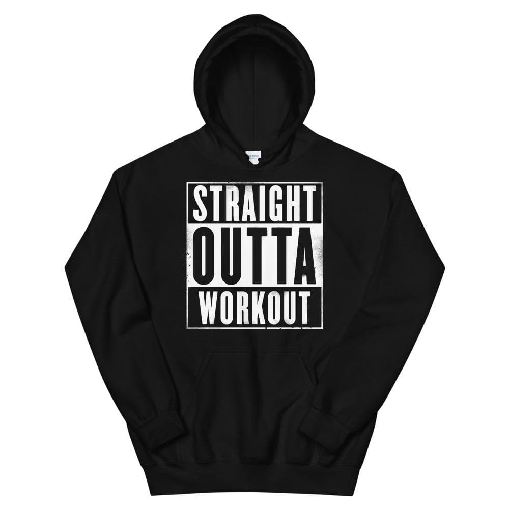 Straight Outta Workout Unisex Hoodie