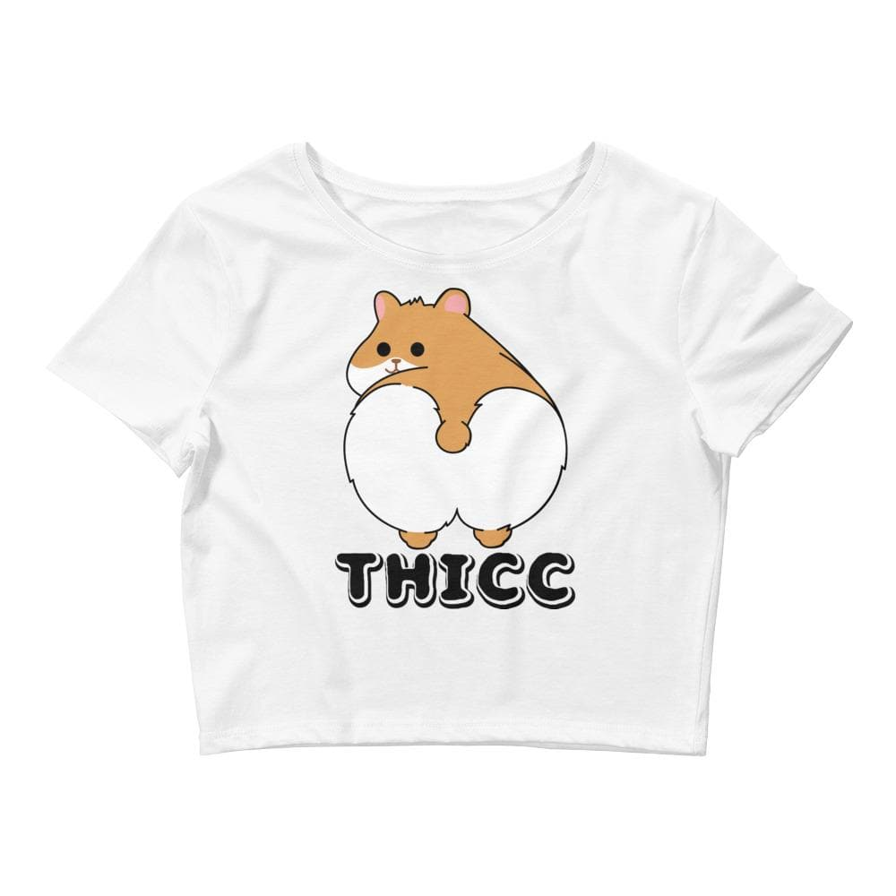 Thicc Hamster Crop Tee