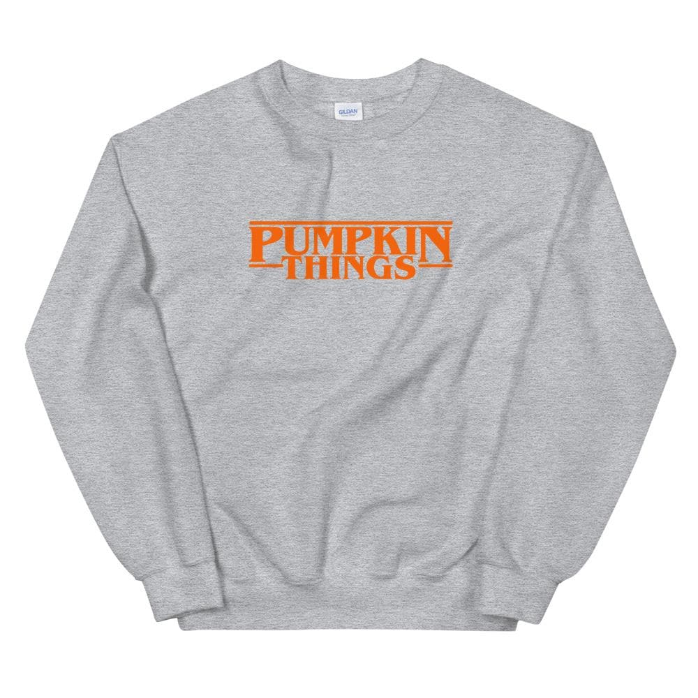 Pumpkin Things Sweatshirt