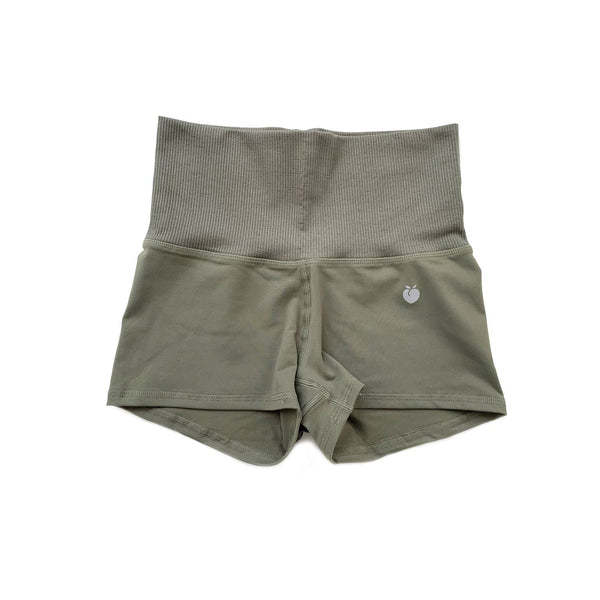 Women's Olive Stride Shorts