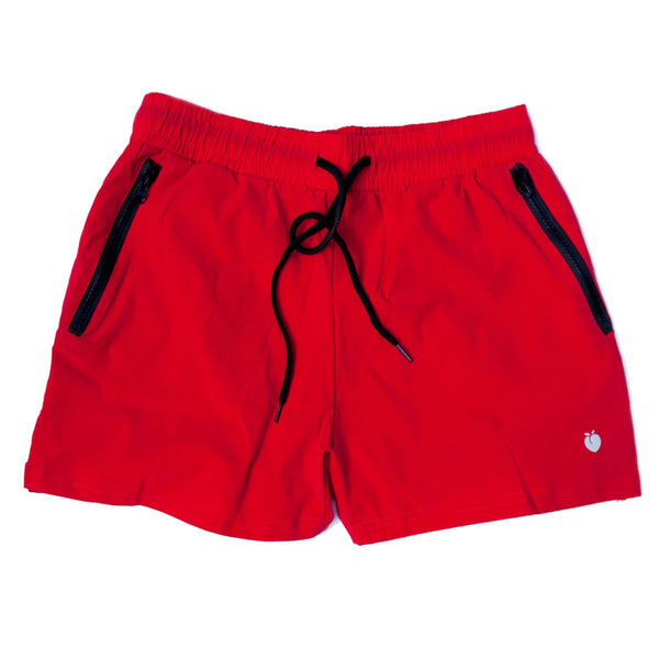 Men's Red Active Shorts