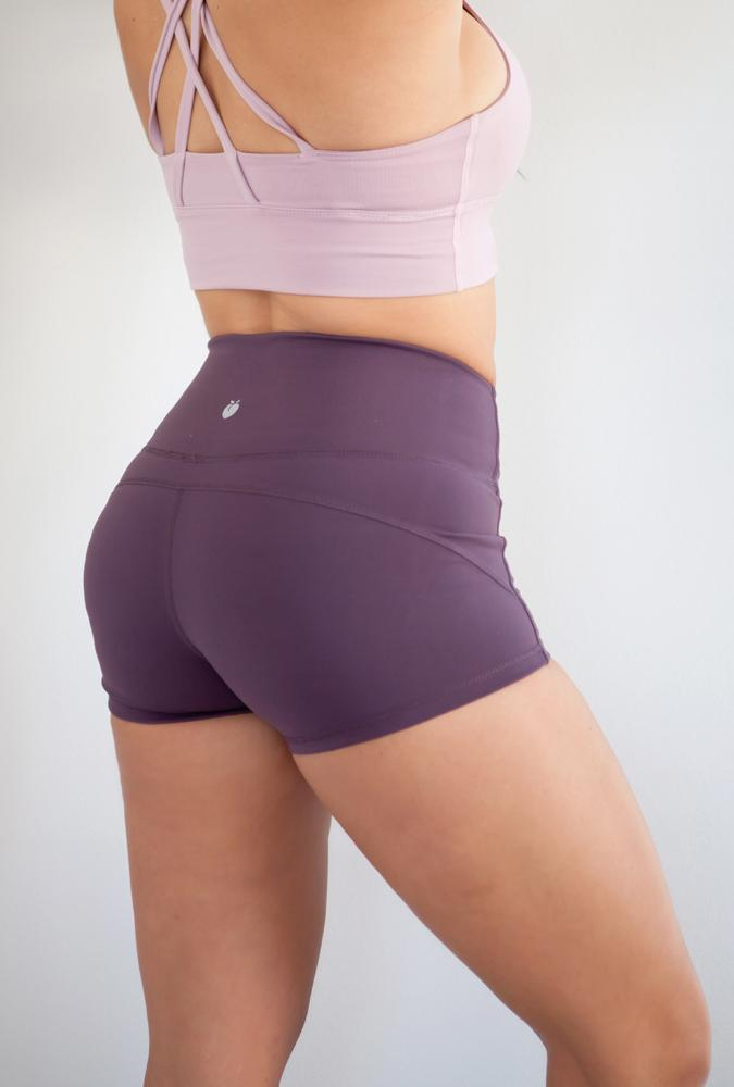 Women's Black Active Shorts