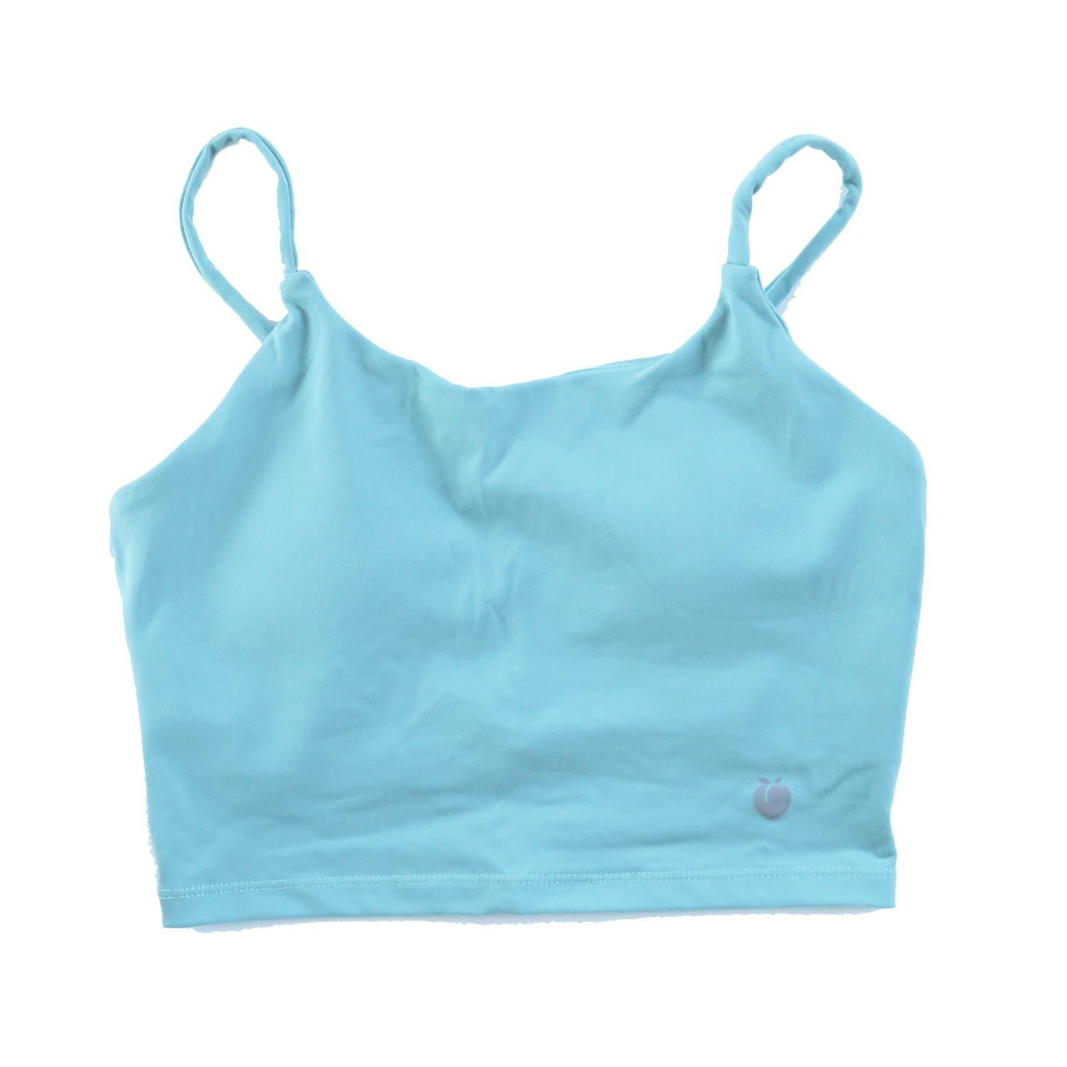 String Crop Top Bra - Turquoise