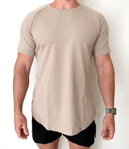 Men's Premium Active Tee - Tan