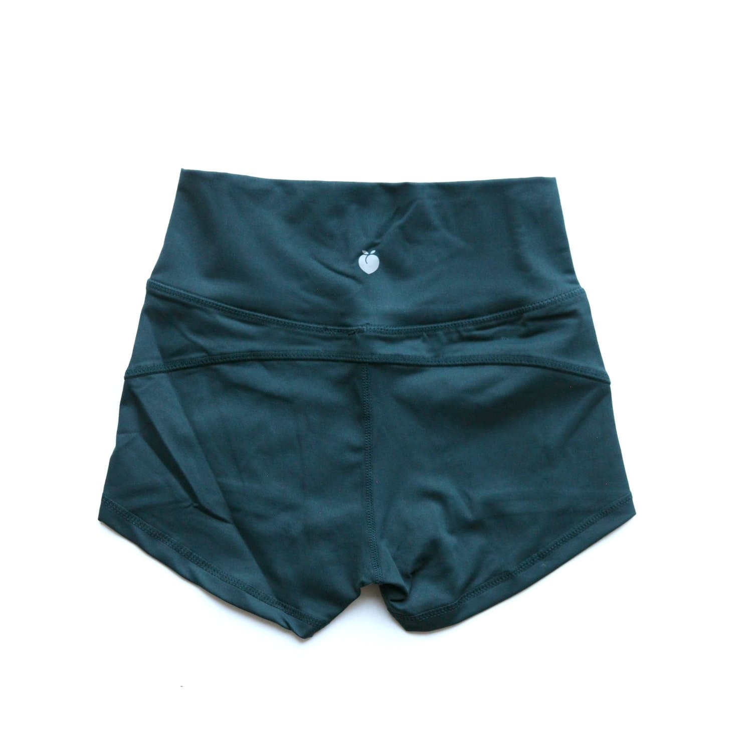 Women's Forest Green Active Shorts