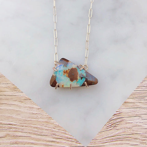 Boulder Opal Necklace [Across the Universe]