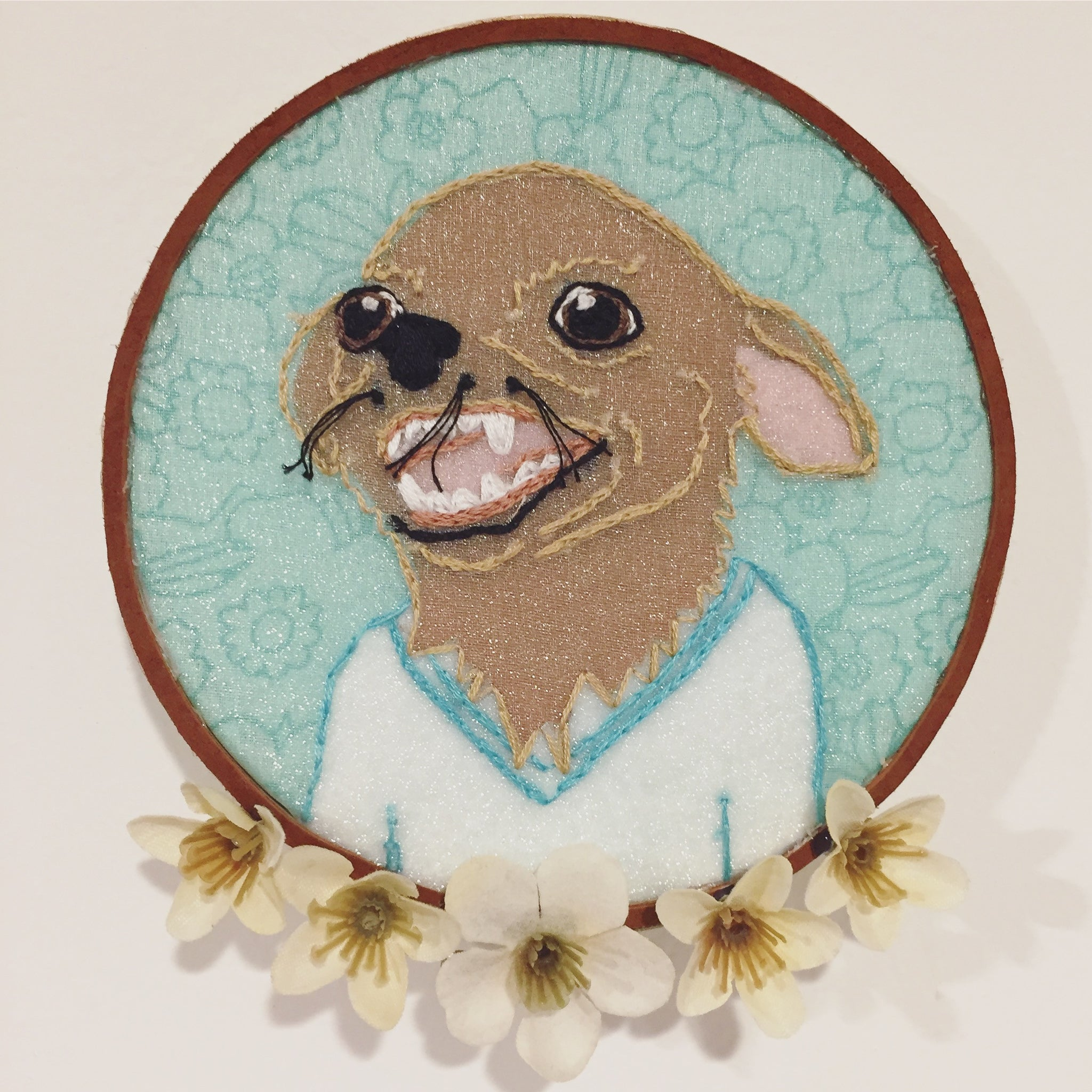 Pet Portrait [Custom Embroidery]