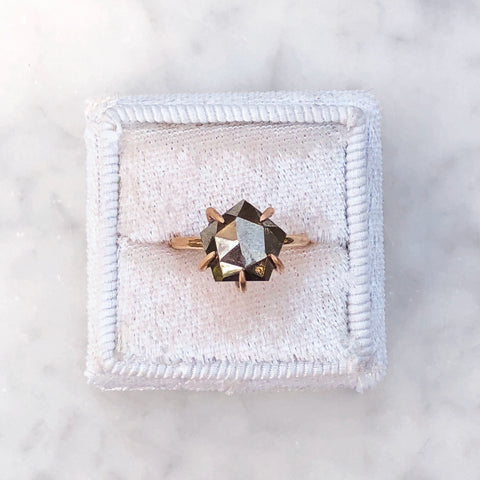 Pyrite Ring [Rose Cut]