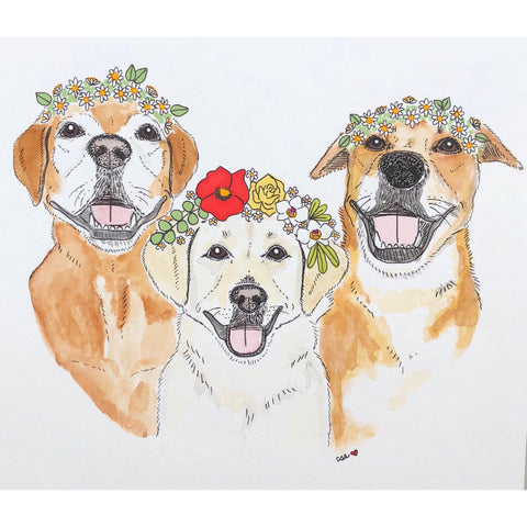 Pet Portrait [Custom Hand Painted]