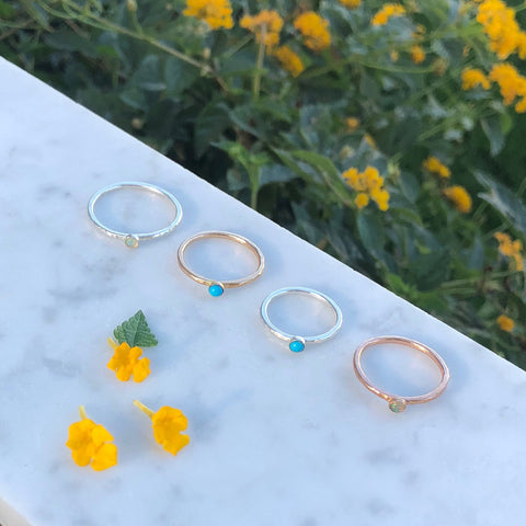 Temecula Tiny Statement Rings