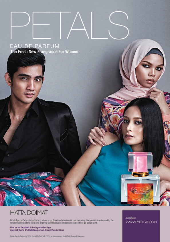 Petals and Beetle, Fashion Fragrance by Hatta Dolmat, a product by T/GA: MITIIGA Beauty & Fragrance