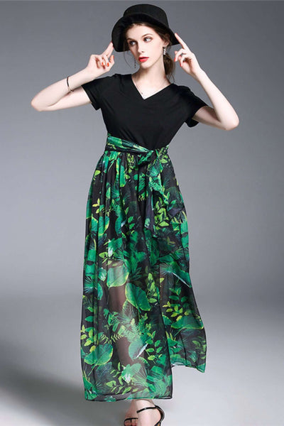 Joie Flowers Maxi Dress