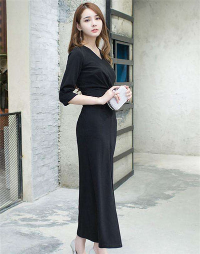 Scarlett Split Long Dress