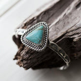 #8 Mine Turquoise - Sterling SIlver CUff