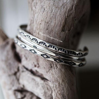Sterling Silver Stacking Cuffs (set of 3)