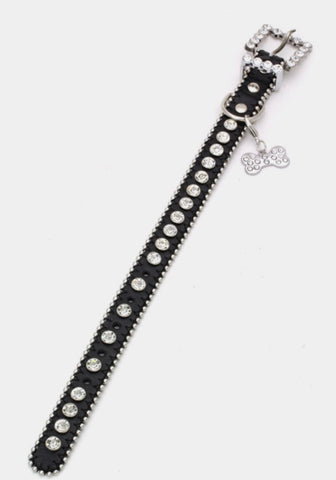 Blingy Dog Collar - Thick style