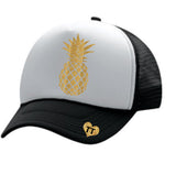 Glitter Pineapple love trucker Hat