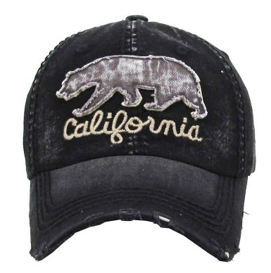 California Bear - Black