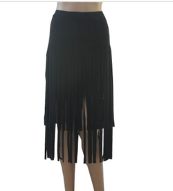 Fringed Flow Skirt