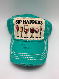 Sip Happens - Turquoise