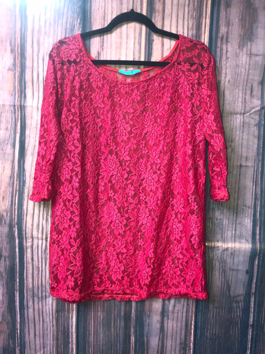 Katarina lace top