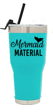 Mermaid Material Tumbler