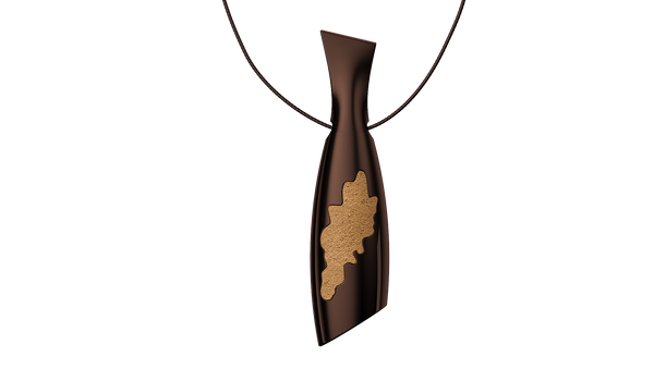 Coffee Bottle Pendant