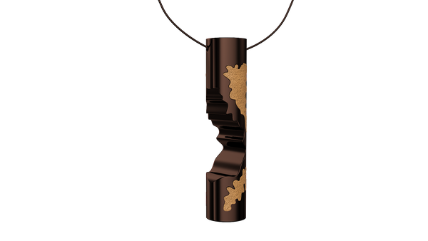 Coffee Cylinder Pendant