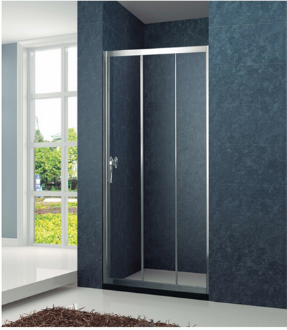 Fullframe 3 panels Connect-move shower screen KD4001