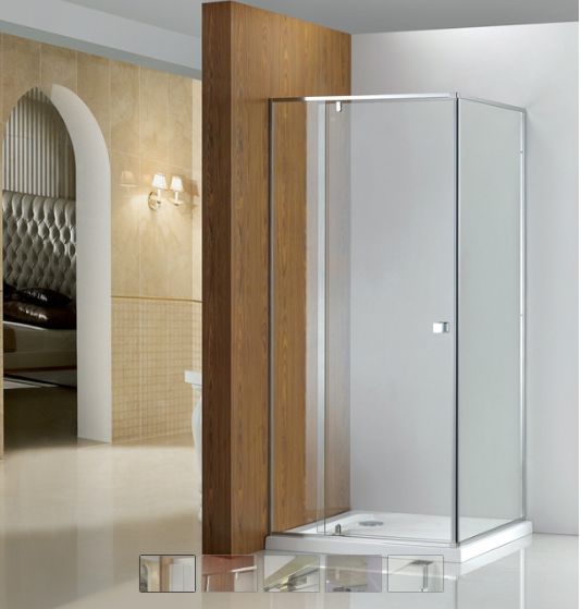 Paris Semiframeless pivot door shower screen KD3006-L