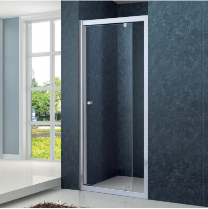 Wall to Wall semiframeless pivot shower screen
