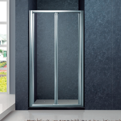 Fullframe bifold shower screen