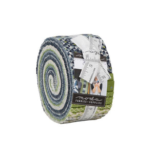 Moda Geometry 2.5 inch Jelly Roll - 40 pieces