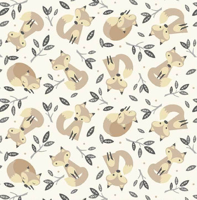 Little Critters - All Over Foxes on Cream