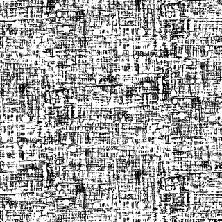 Century Black on White - Weave Texture