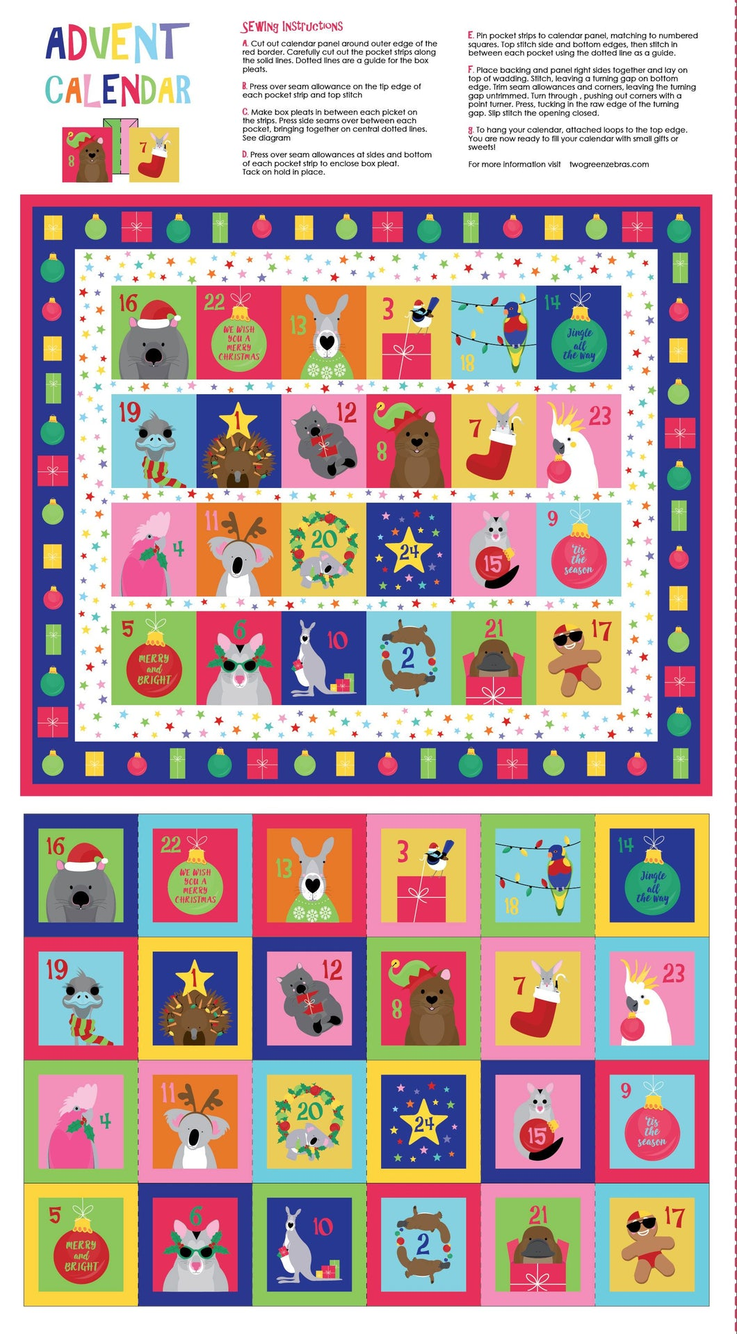 Festive Friends Advent Calendar