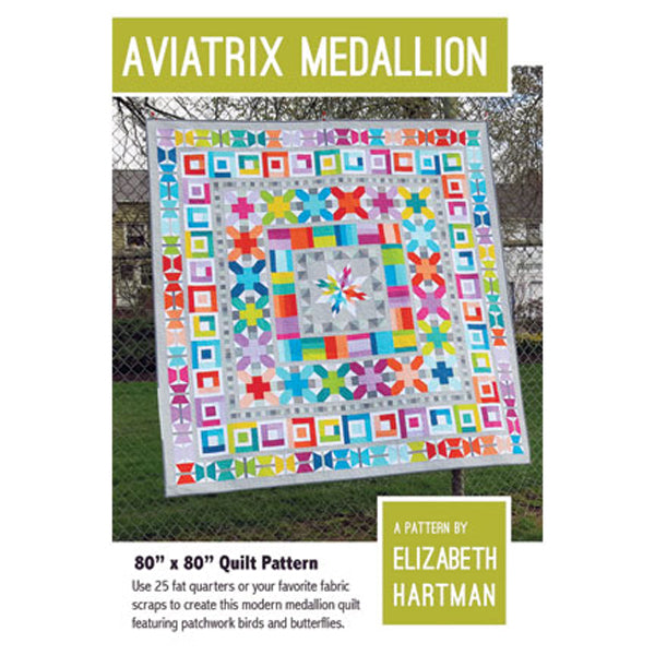 Aviatrix Medallion by Elizabeth Hartman