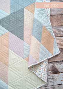 Baby on Trend Quilt Kit - Blush Colourway