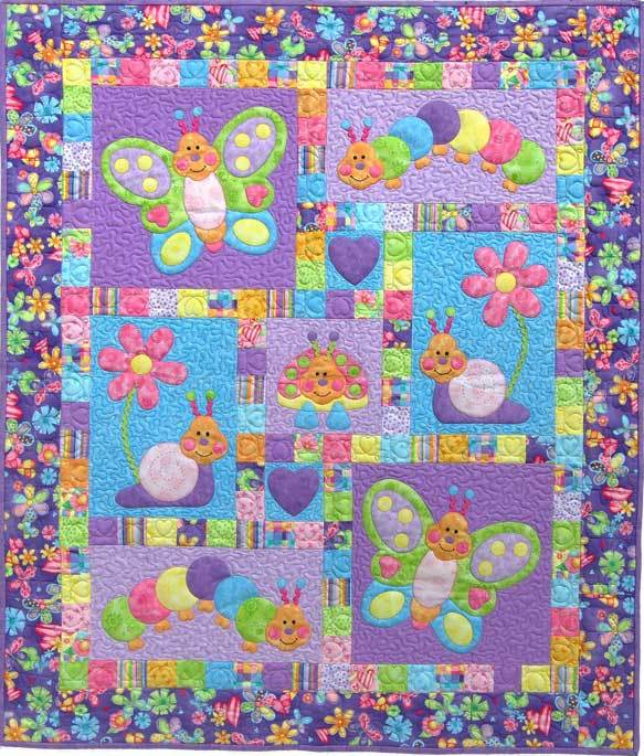 Bugsy from Kids Quilts