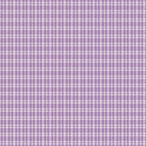 Butterfly Garden - Plaid Grape (on sale)