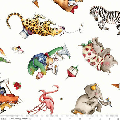 Hungry Animal Alphabet - Animal Toss Off White