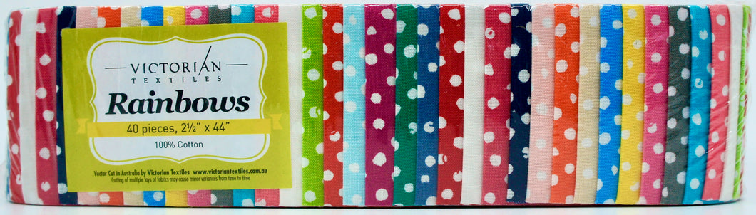 Rainbow Jelly Roll - Going Dotty