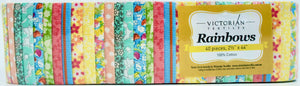 Rainbow Jelly Roll - Spring Flowers
