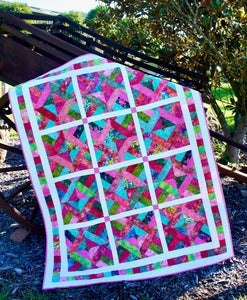 Twisted Jelly Roll Quilt Kit